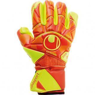 Uhlsport Dynamic Impulse Absolutgrip Finger Surrie goaliehandschoenen.