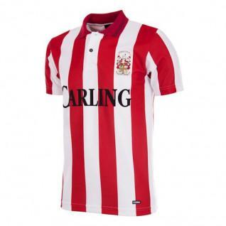 Stoke City FC Copa Voetbal Trui 1993 - 94 Retro
