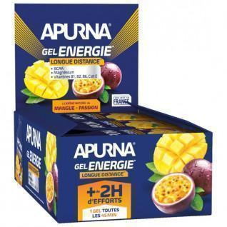 Pakket van 24 Apurna Energy Passion Mango Gels - 35g