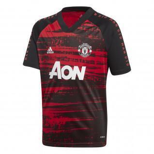 Manchester United warm-up jersey 2020/21