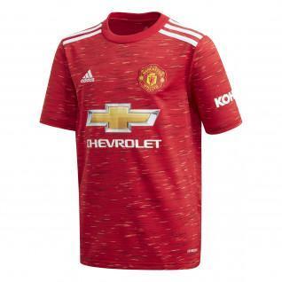 Manchester United Junior Home Shirt 2020/21