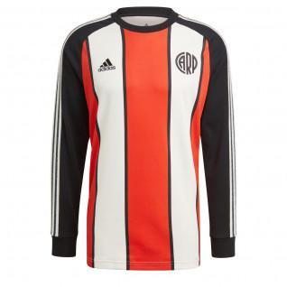 River Plate 2021/22 Pictogrammen Lange Mouw T-Shirt