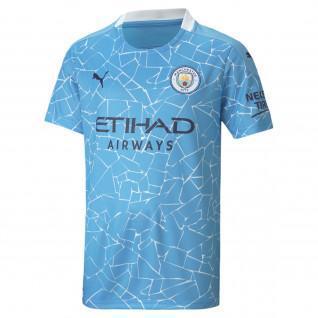 Manchester City 2020/21 Junior Home Shirt
