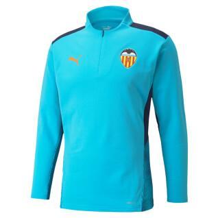Training top Valencia cf 1/4 zip 2021/22