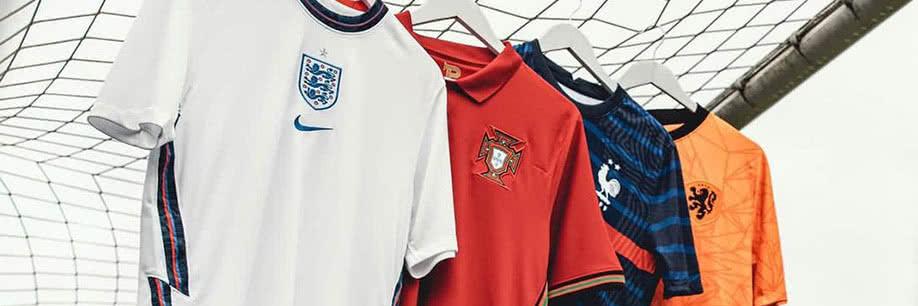 Euro 2020 shirts